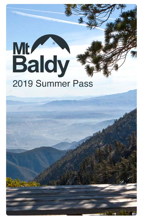 Mt Baldy Resort 2020 Annual Pass