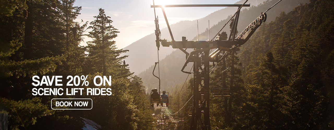 Scenic Lift Rides at Mt Baldy Resort