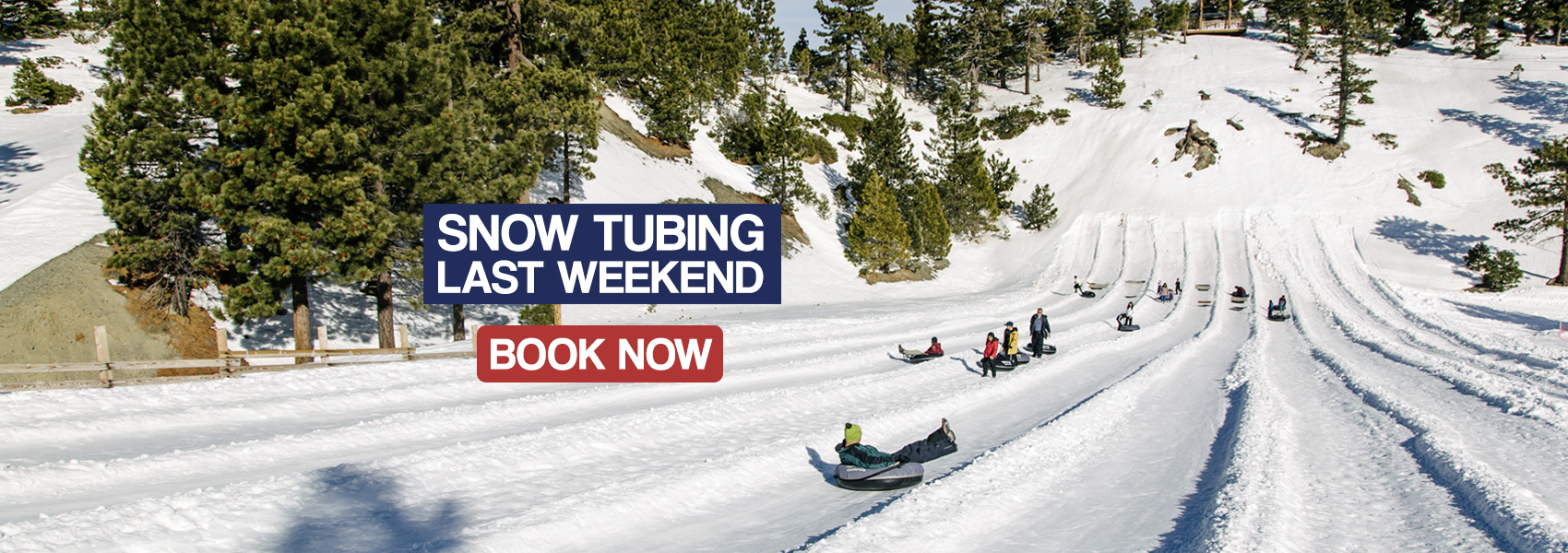 Last weekend to go snow tubing at Mt Baldy Resort